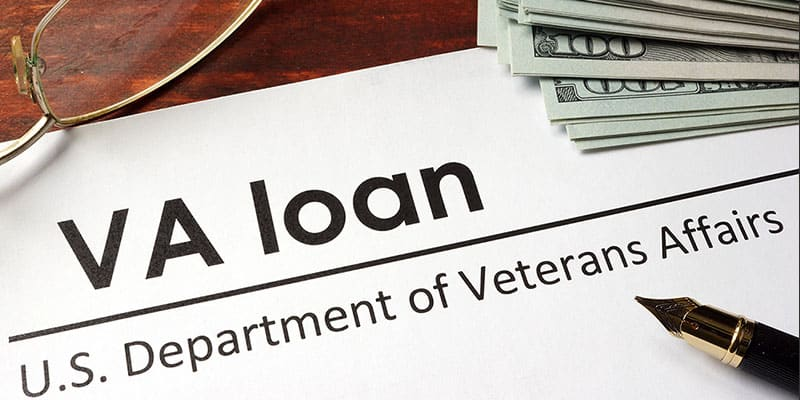 VA loan document